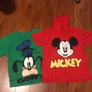 Other - Disney short tee shirts